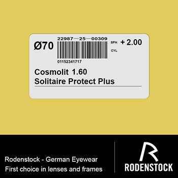 Cosmolit 1.60 Solitaire Protect Plus