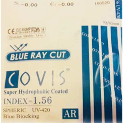 Covis 1.56 Blue Ray Cut