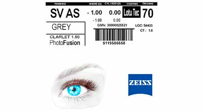 Zeiss SV 1.6 AS  LotuTec PhotoFusion