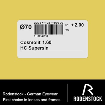 Cosmolit 1.60 HC Supersin