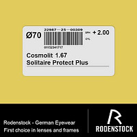 Cosmolit 1.67 Solitaire Protect Plus