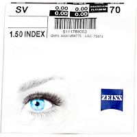 Zeiss Single Vision 1.5 DV Platinum