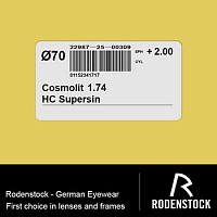 Cosmolit 1.74 HC Supersin